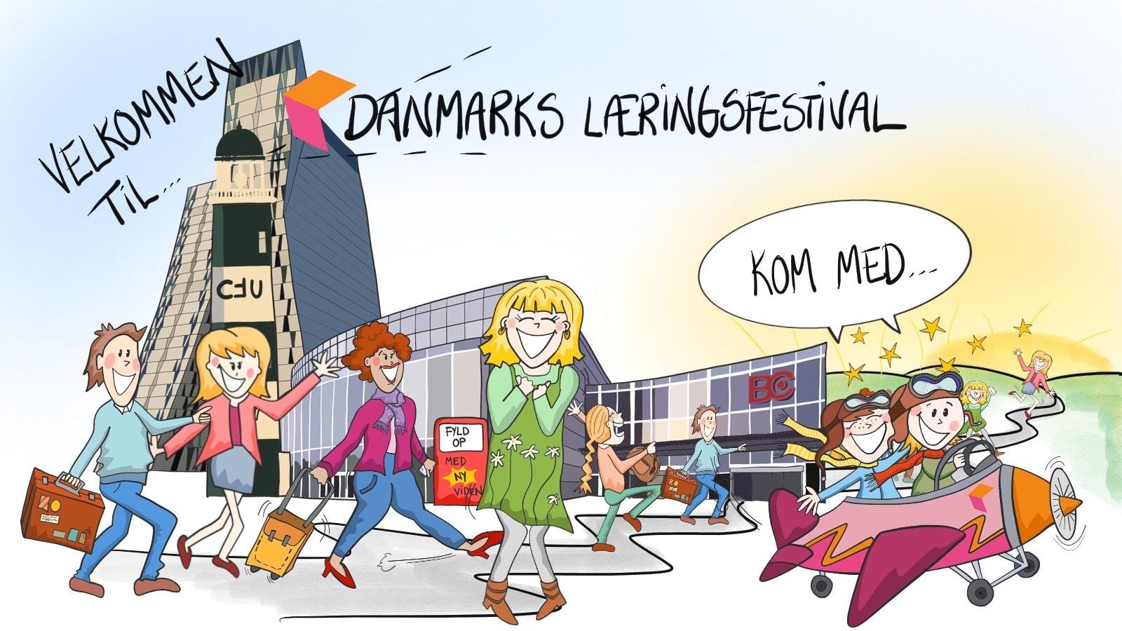 Tegnefilm til læringsfestivalen