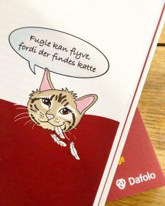 """Illustration tegnet for Forlaget Dafolo af Tegnestuen helleforhelle til bogen """"Er der matematik i en perleplade?"""""""