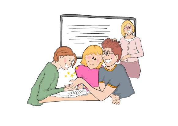 FGU - Forberende GrundUddannelse tegnet af Tegnestuen helleforhelle